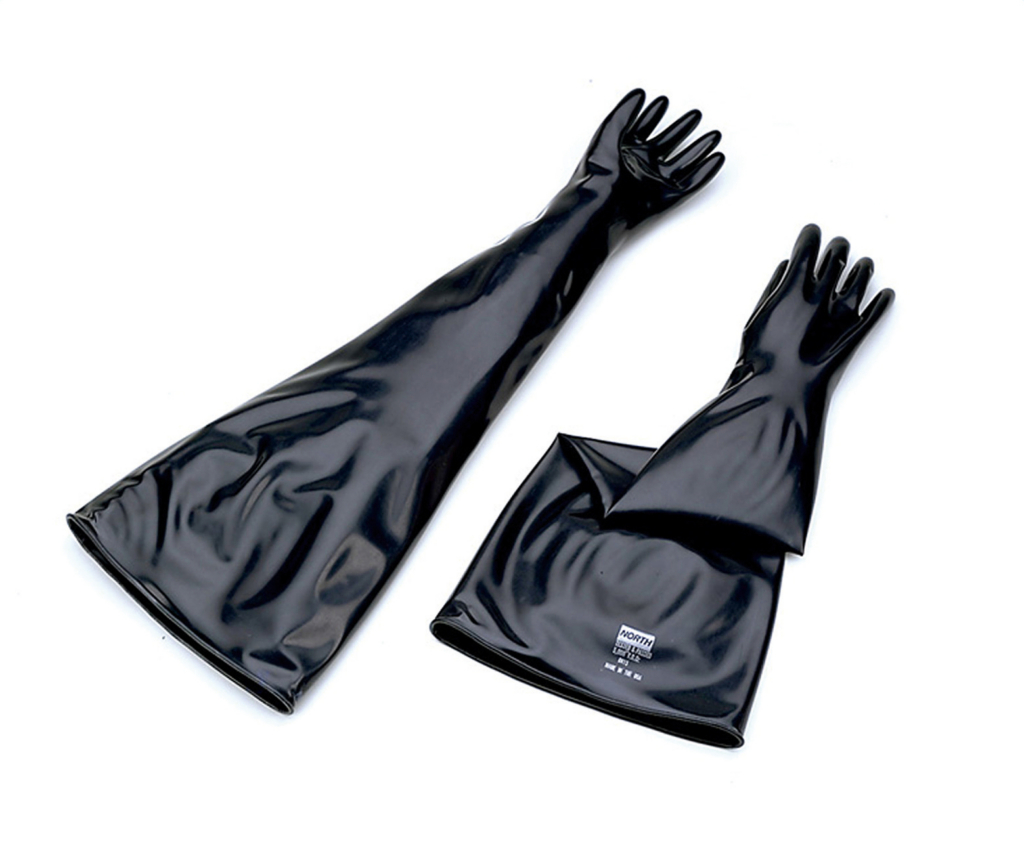 ブチル製グローブボックス手袋