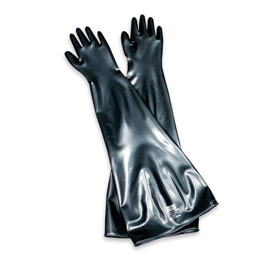 ネオプレン製グローブボックス手袋