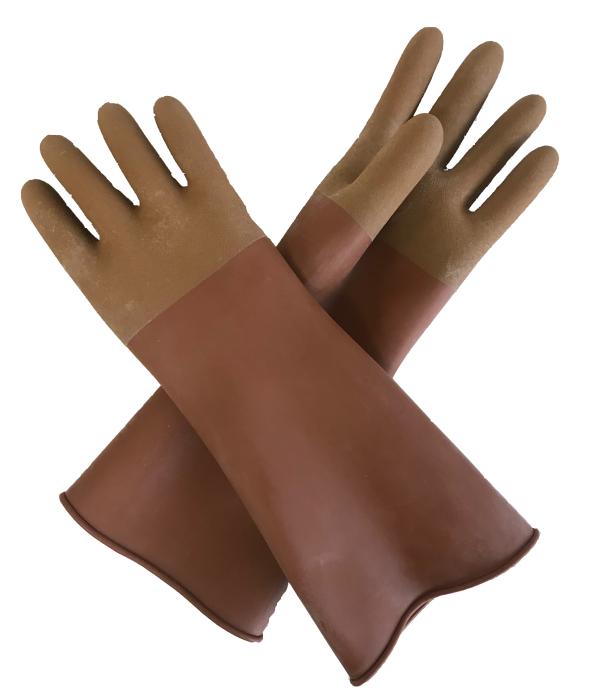 天然ゴム製作業用手袋 370